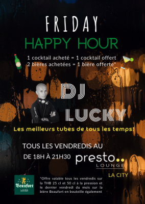 PRESTO HAPPY HOUR WEBSITE